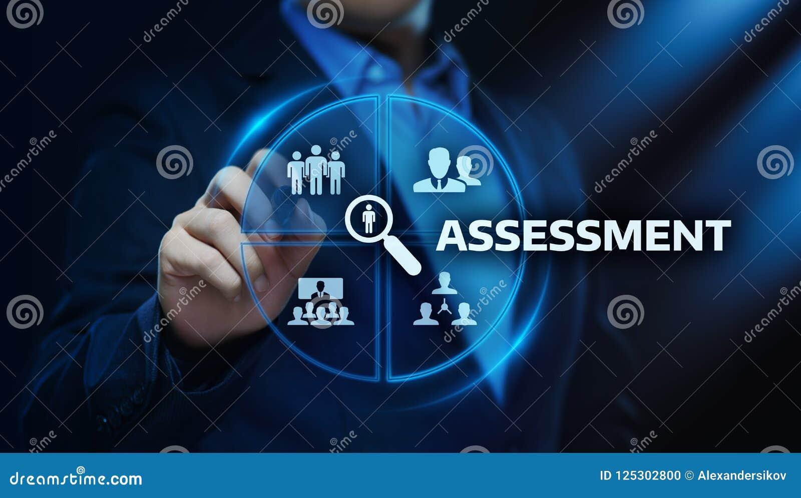 Concetto di tecnologia di analisi dei dati di affari di misura di valutazione di analisi di valutazione