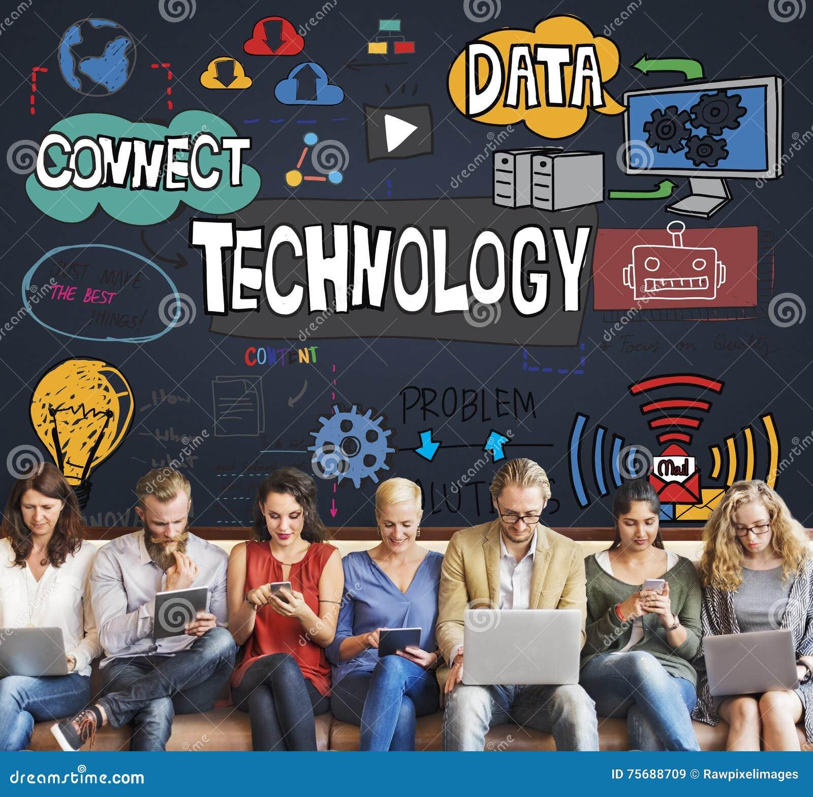 Concetto di tecnologia dell innovazione di Internet di Digital di dati di tecnologia
