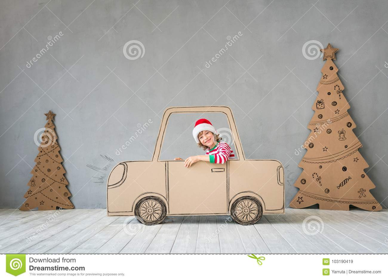 Concetto di vacanza invernale di natale di Natale