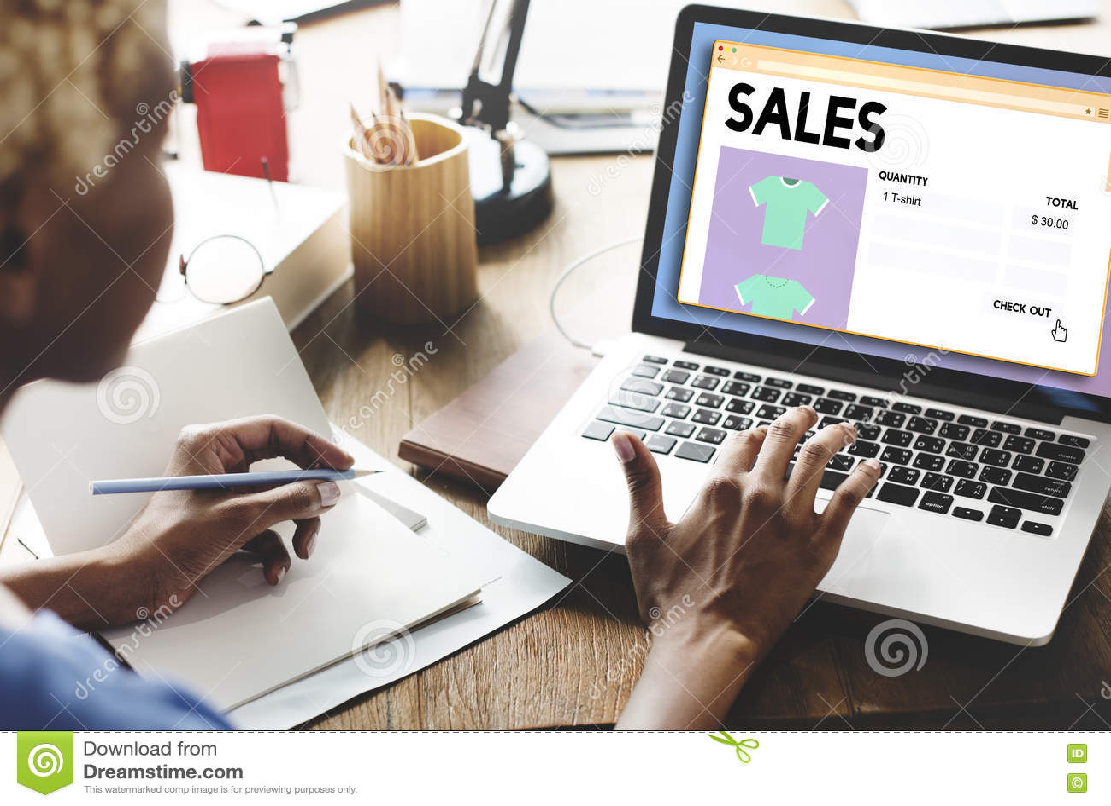 Concetto di vendita di vendita al dettaglio del margine di guadagno di reddito di commercio di vendite