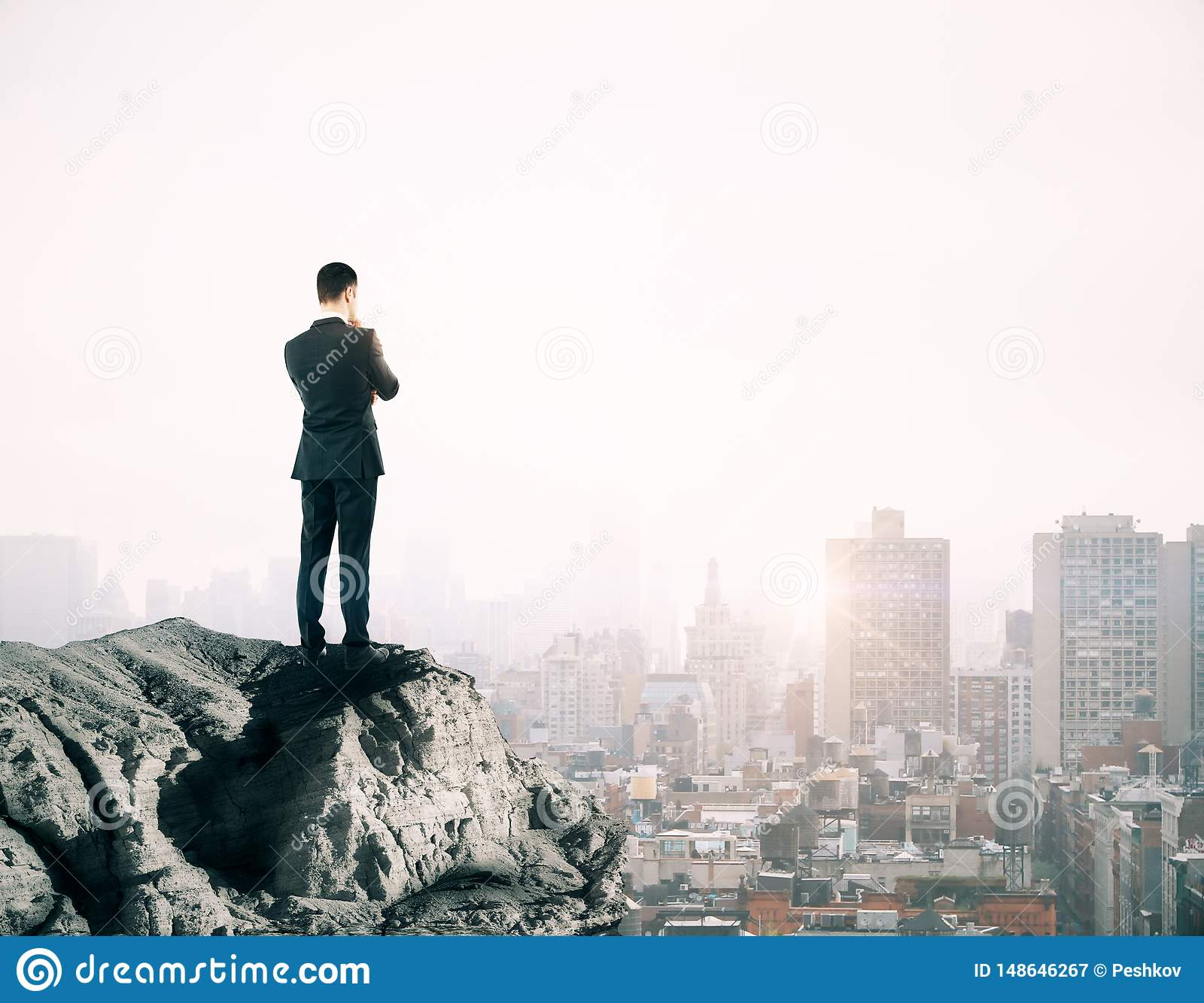 Concetto di visione e di successo