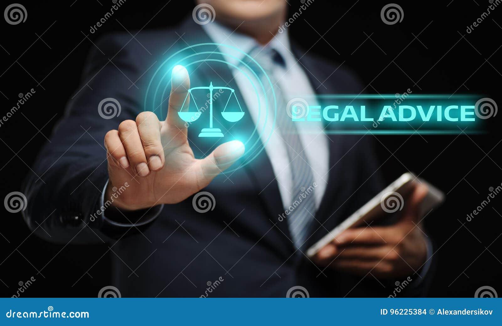 Concetto esperto di Internet di affari di legge di consiglio legale