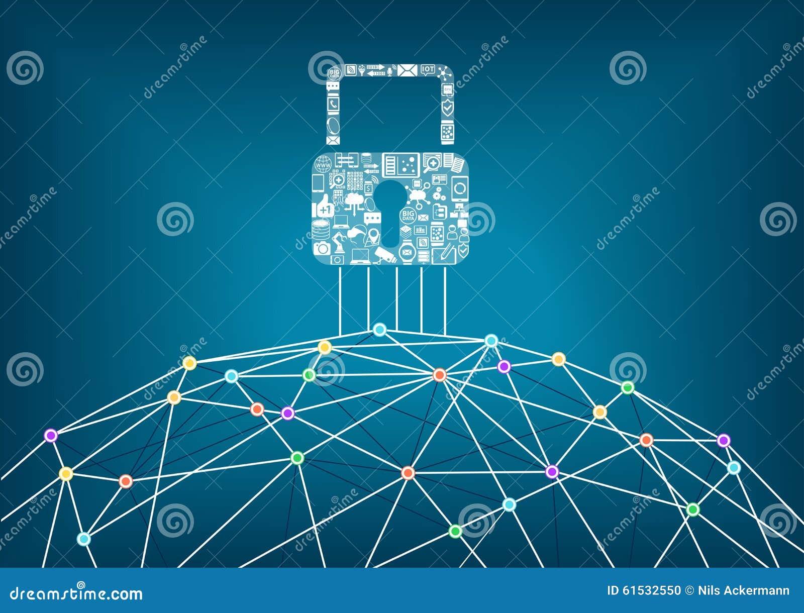 Concetto globale di protezione di sicurezza dell IT dei dispositivi collegati