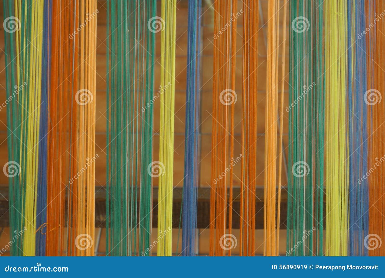 Concetto industriale di arte di tradizione dell ago fatto a mano di seta della lana