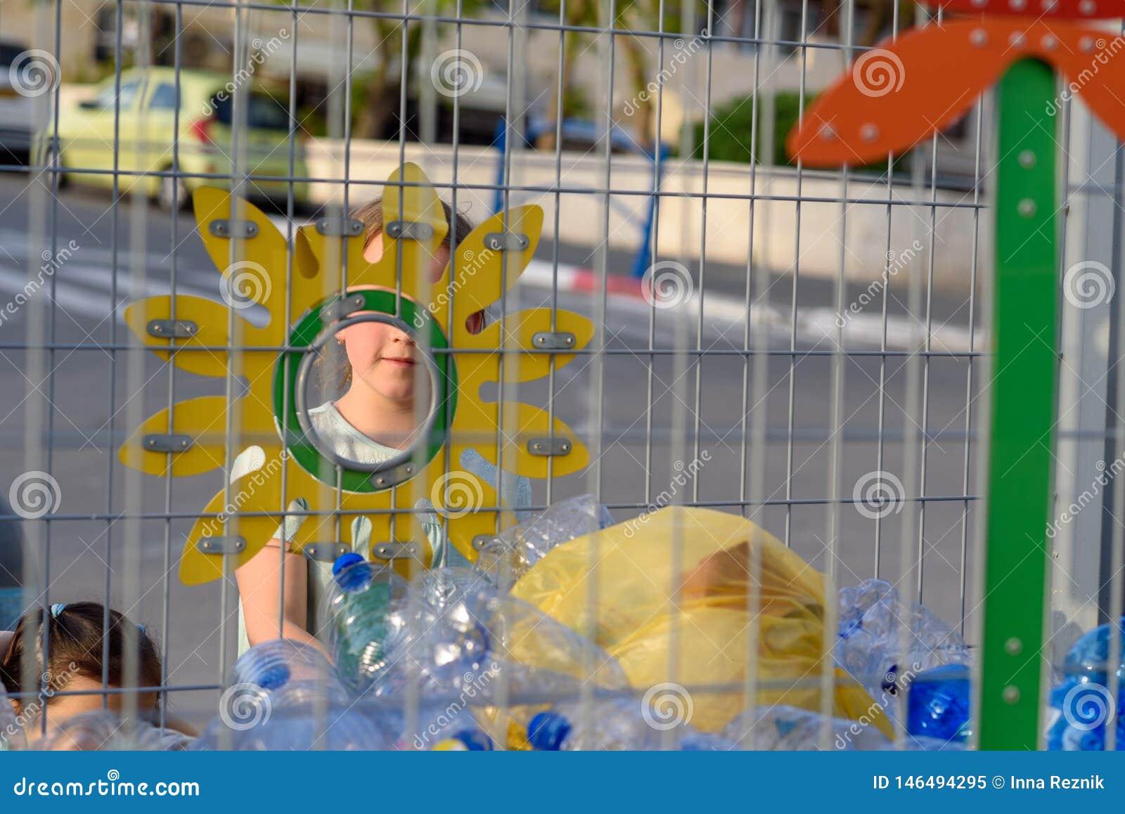 Concetto libero e di risparmio di plastica del pianeta Immagine concettuale per l anti campagna di plastica