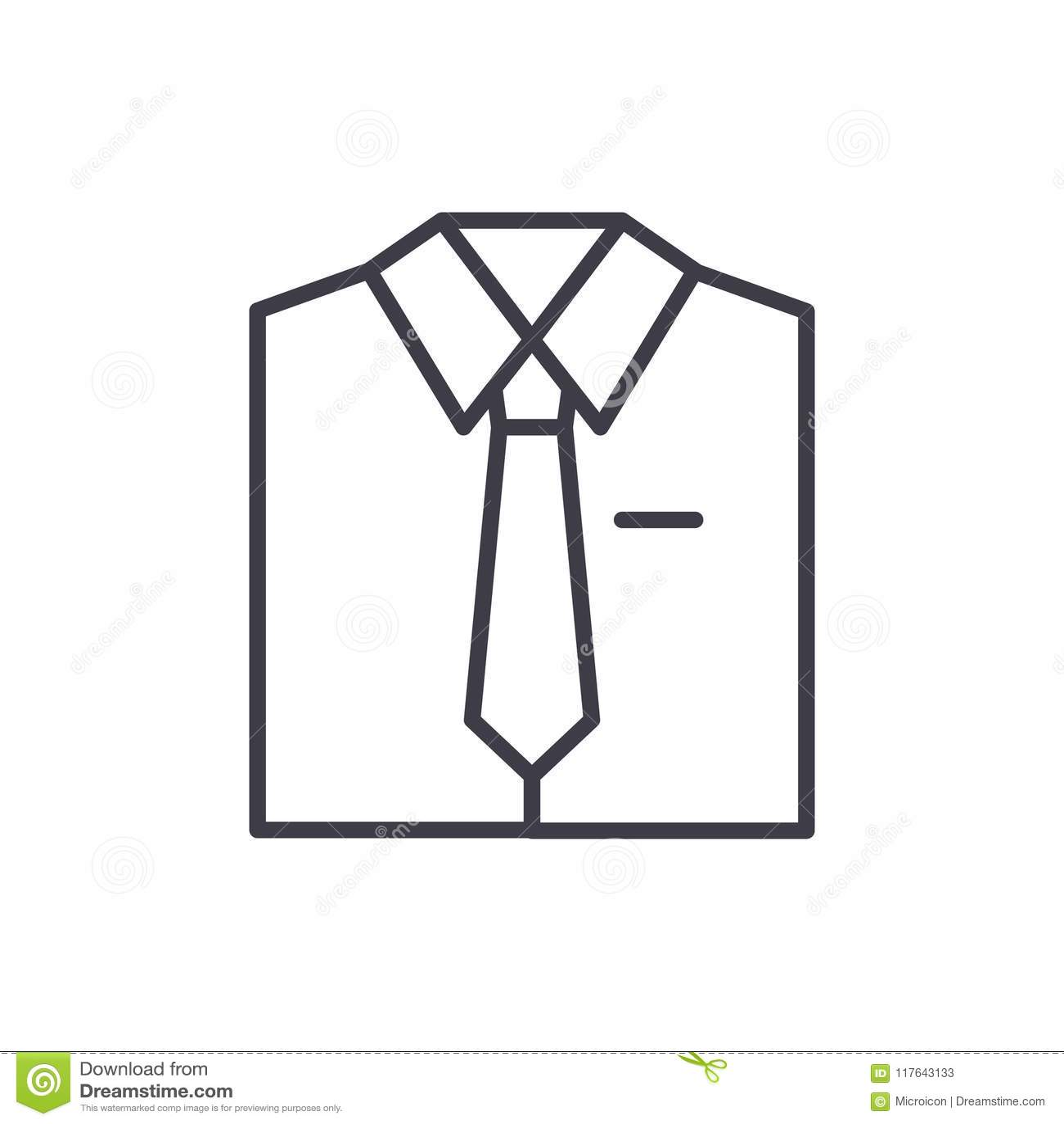 Concetto nero uniforme di lavoro dell icona Simbolo piano uniforme di lavoro di vettore, segno, illustrazione
