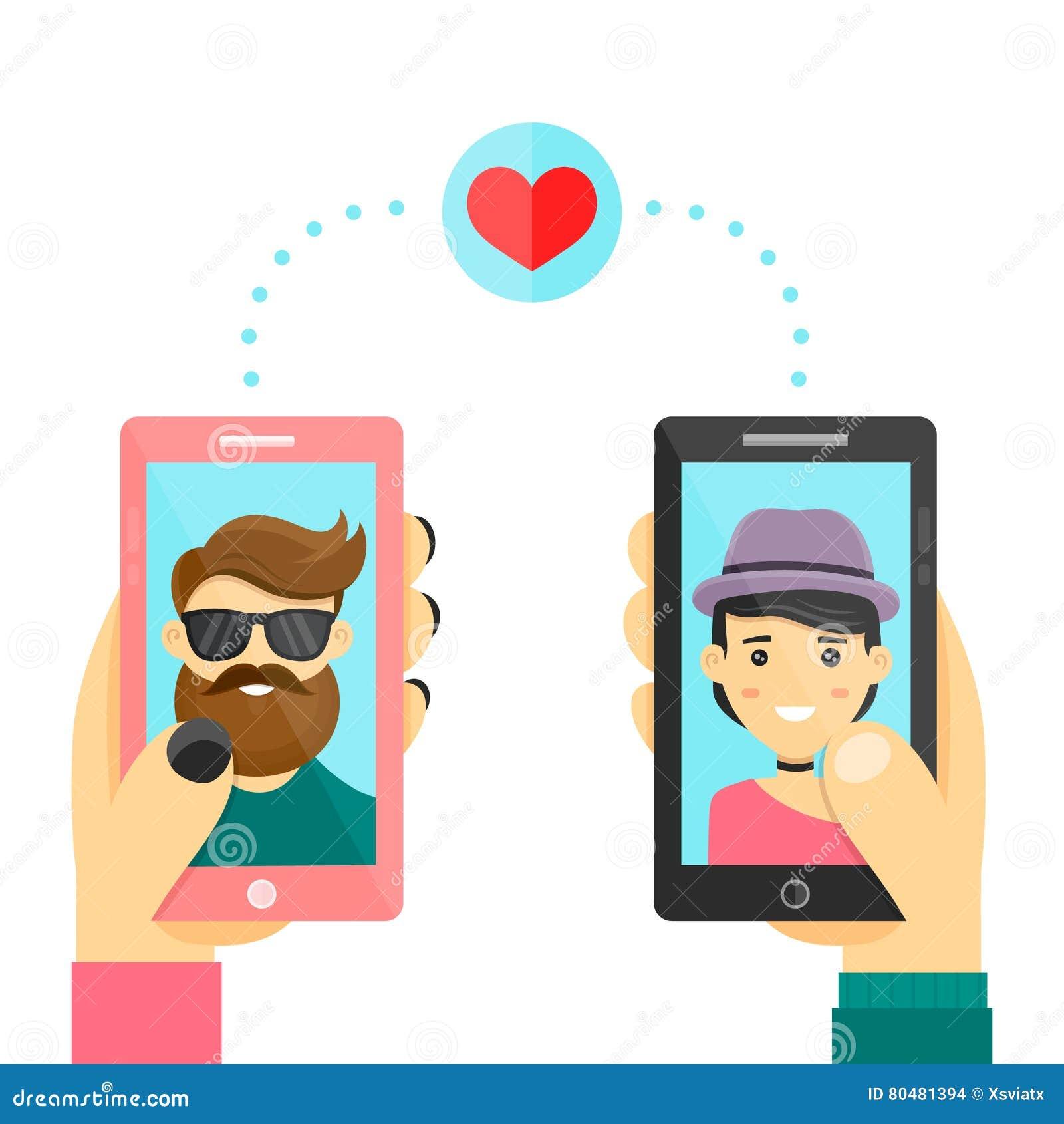 online dating fumetto