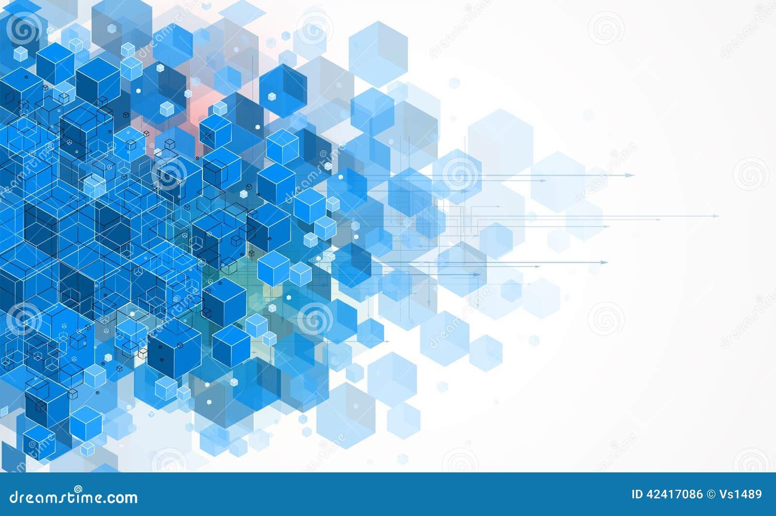 Concetto per l affare corporativo & lo sviluppo di nuova tecnologia