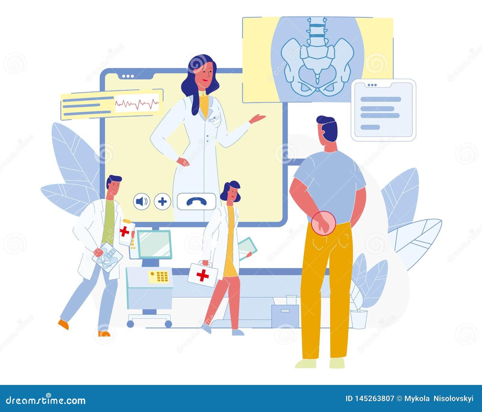 Concetto piano di vettore di tecnologie future di sanità