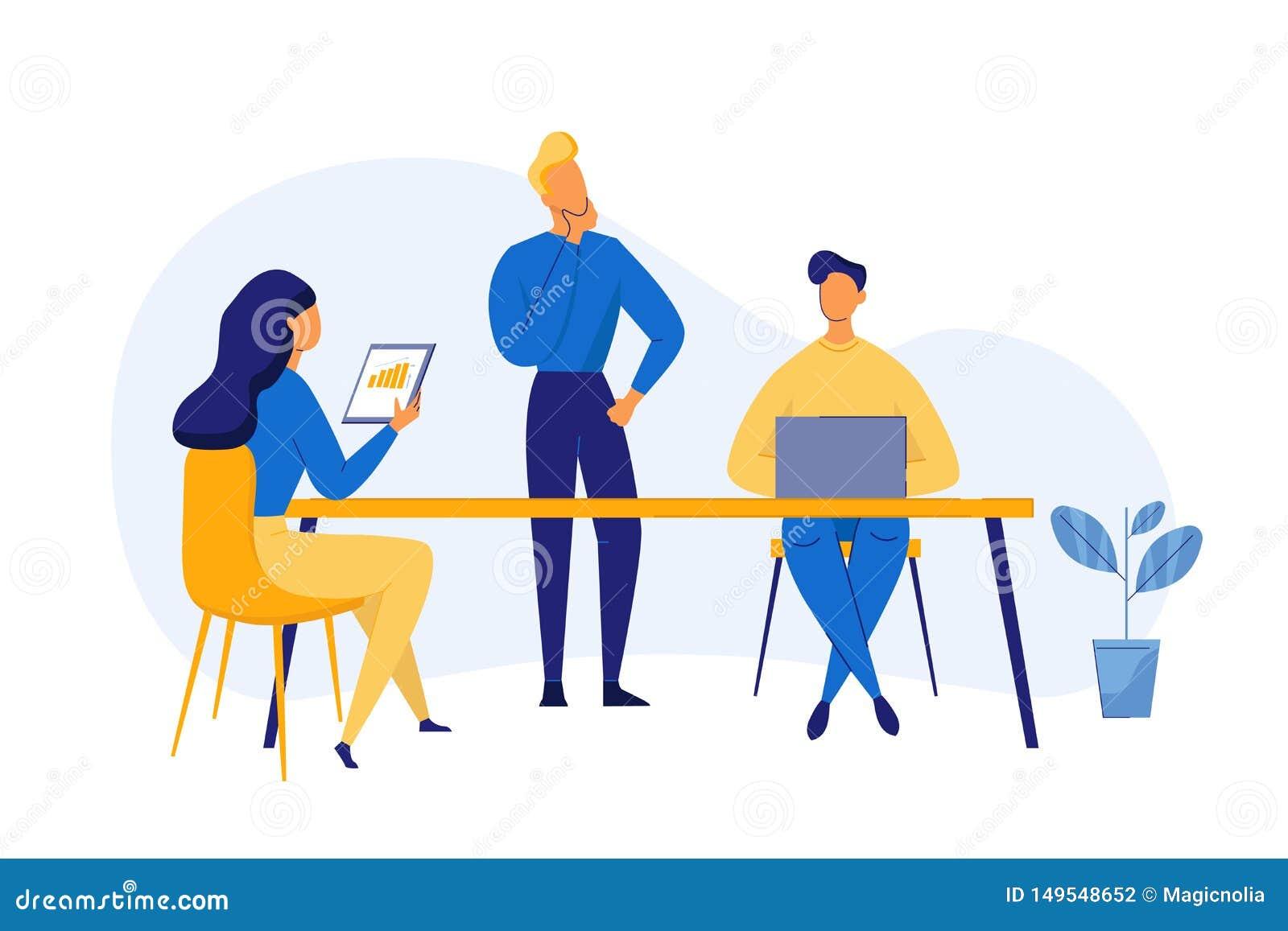Concetto piano moderno di lavoro di squadra di progettazione per l insegna ed il sito Web Analisi commerciale, strategia contenta
