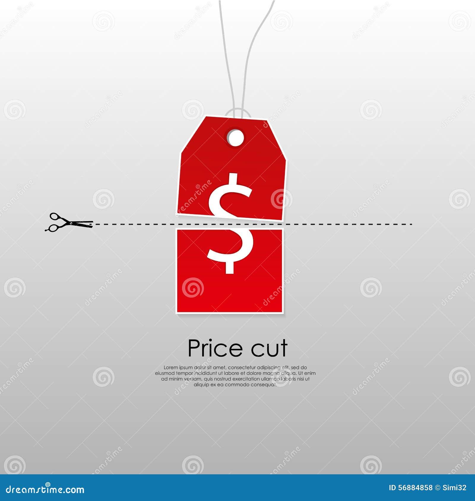 Concetto a prezzo ridotto
