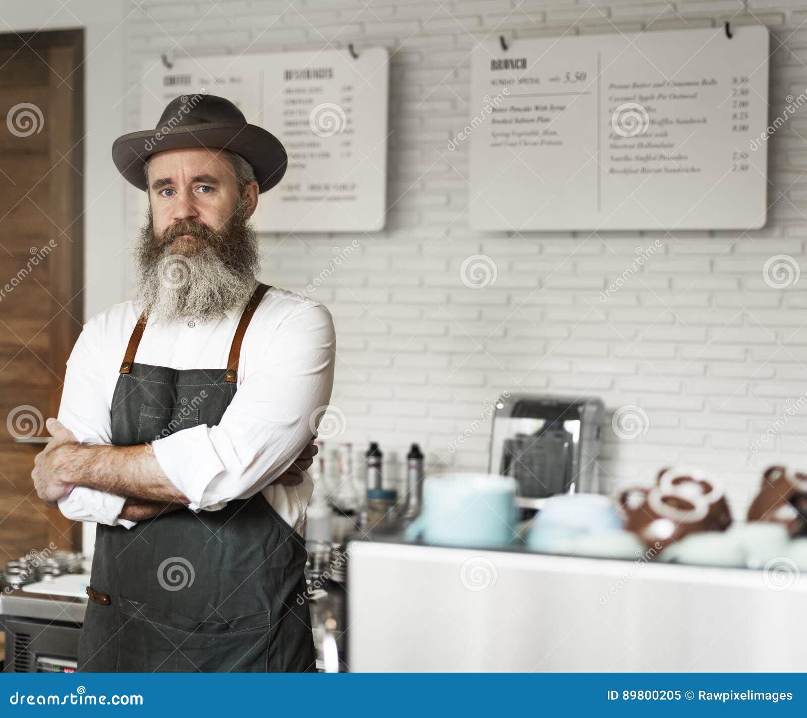 Concetto professionale degli apparecchi dell uniforme del vapore del caffè del caffè
