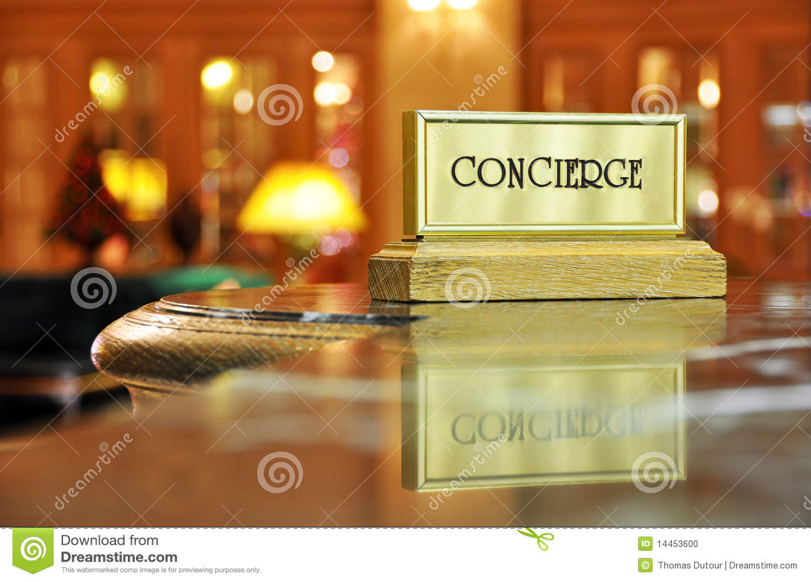Concierge γραφείο