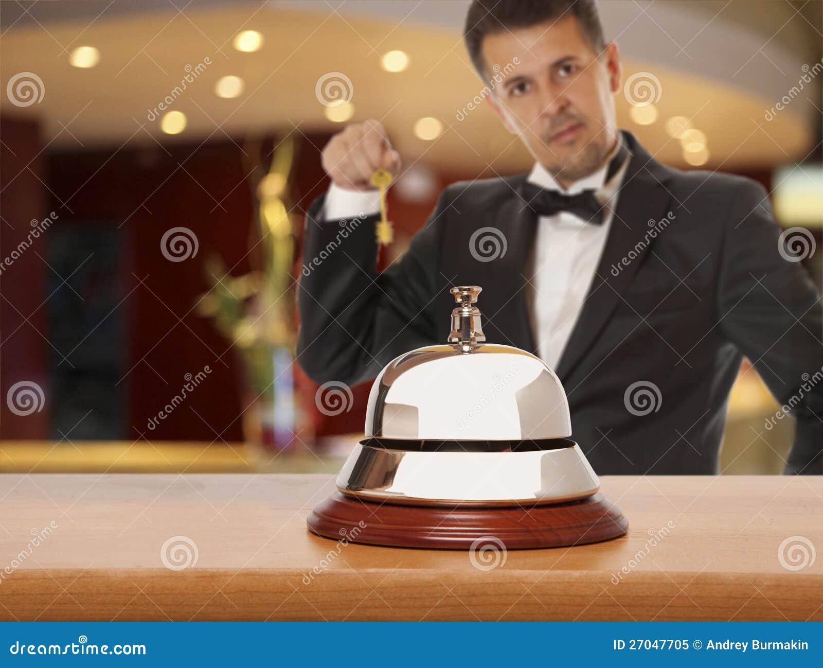 Concierge del hotel