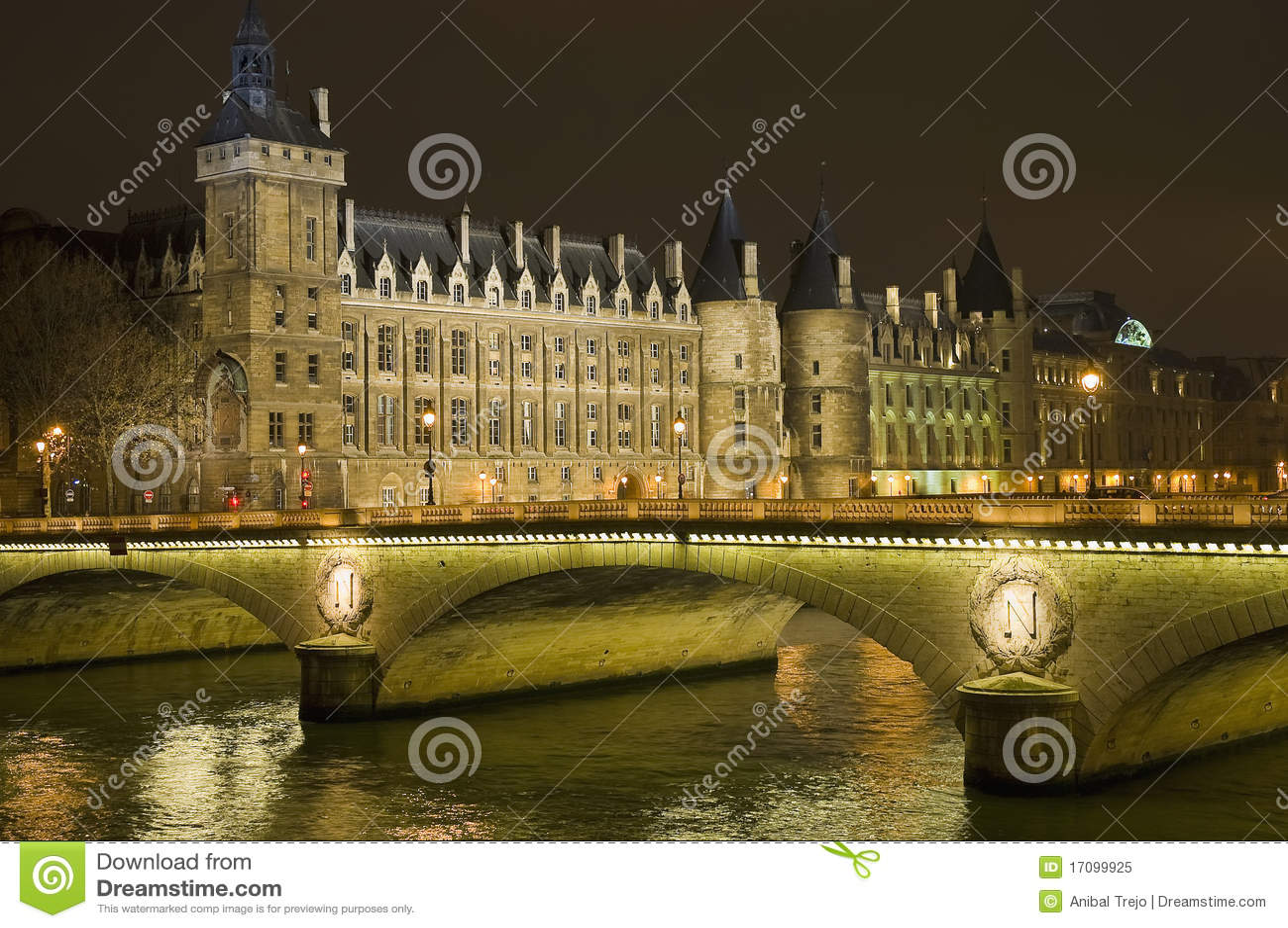 Conciergerie Gebäude in Paris, Frankreich