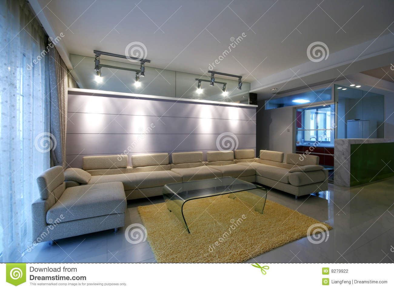 Concise and home decoration stock photography image 8279922 for Moderne huisdecoratie