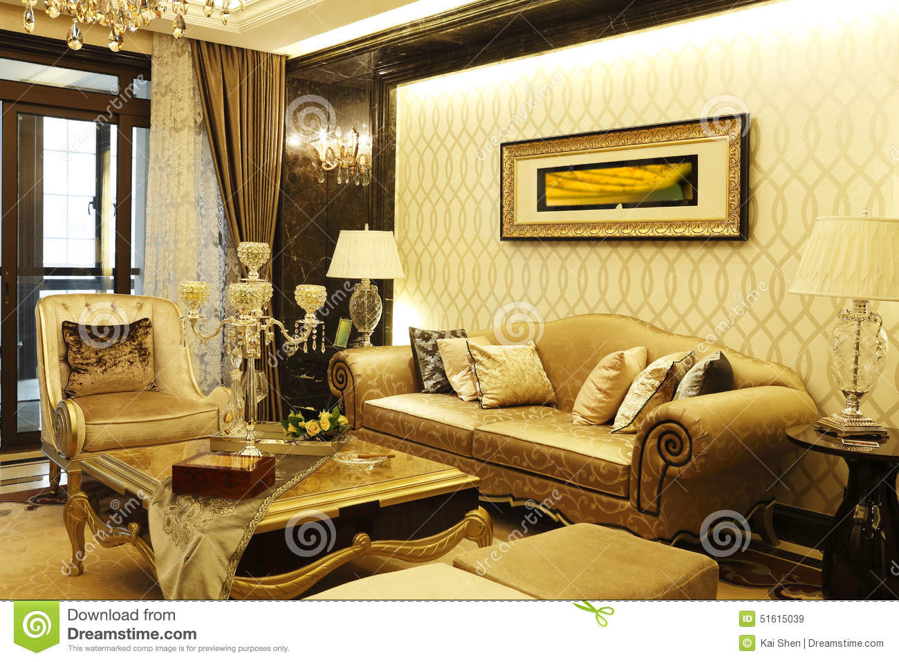 Superb Concise And Lively Sitting Room In The Apartment Stock Image Caraccident5 Cool Chair Designs And Ideas Caraccident5Info