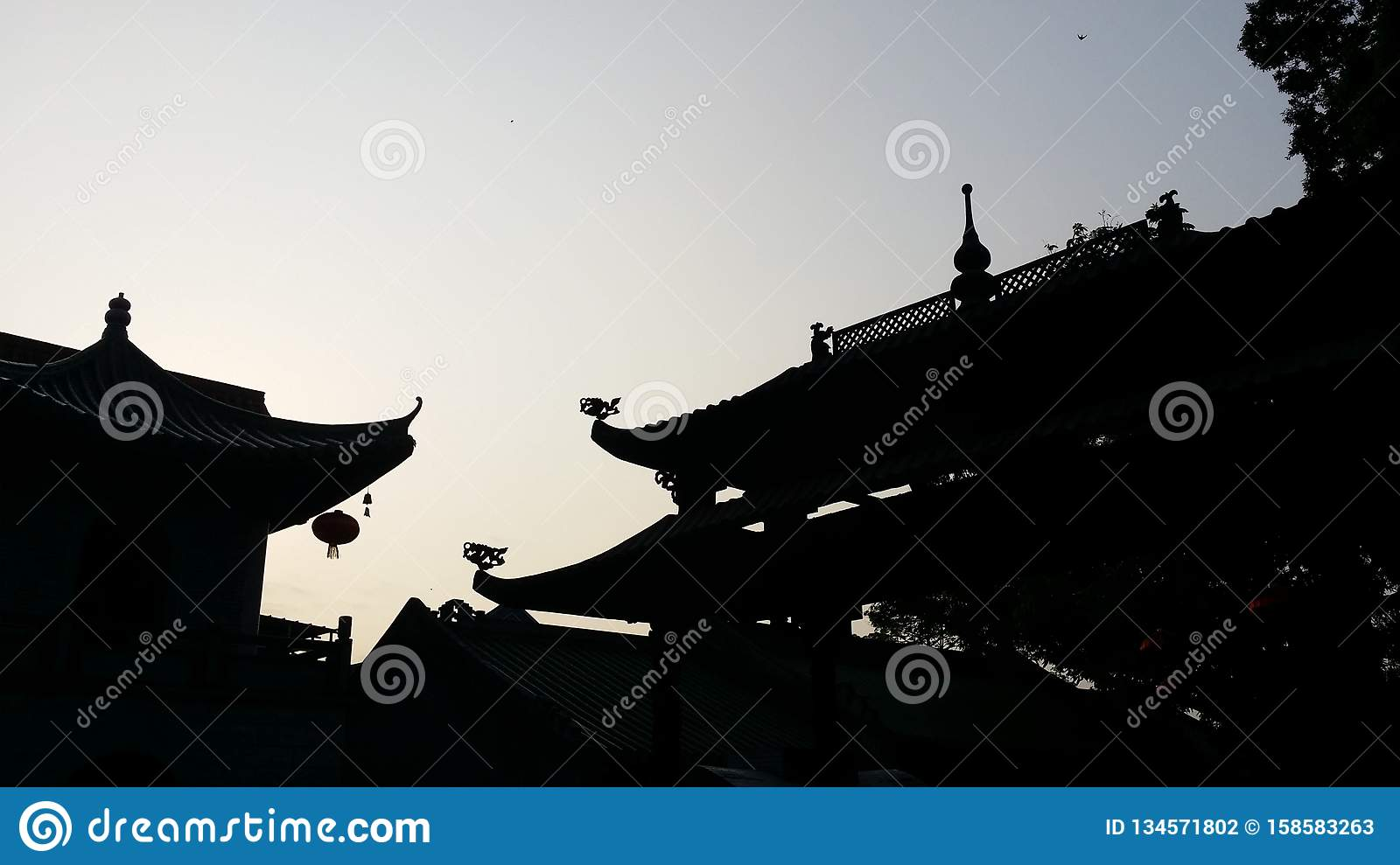 Conclusie van Chinese Taoist architecturale taal