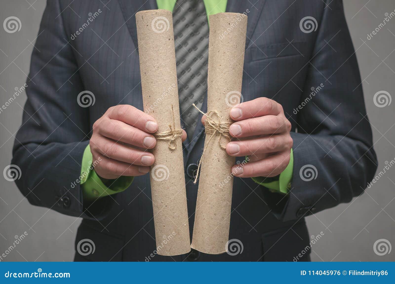 Conclusion d un contrat d affaires Concept d affaire d affaires Signature d un accord