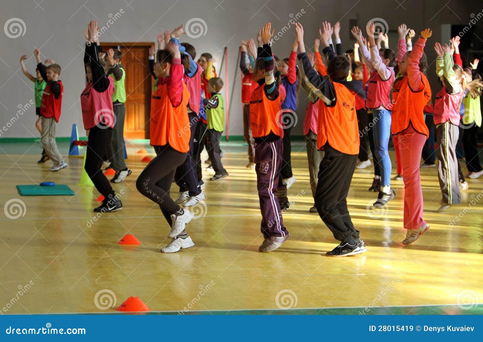 Concorrenza di atletismo dei bambini