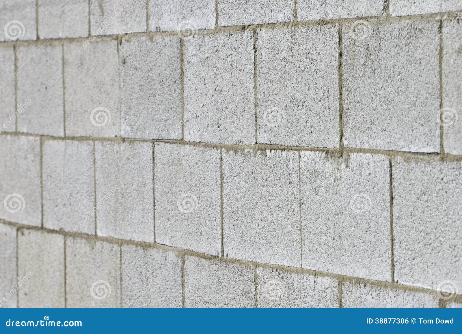 Concrete block wall stock photo image 38877306 for Cbs concrete