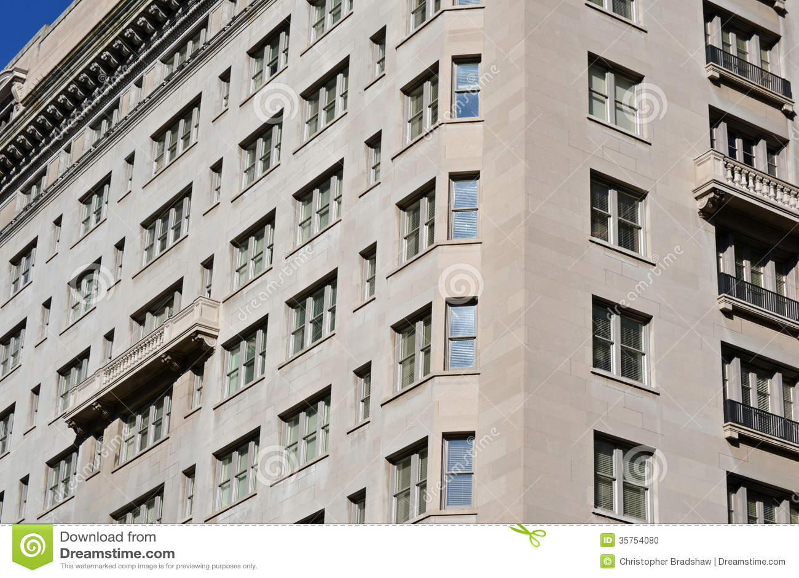 Old Concrete Buildings : Concrete building stock photo image