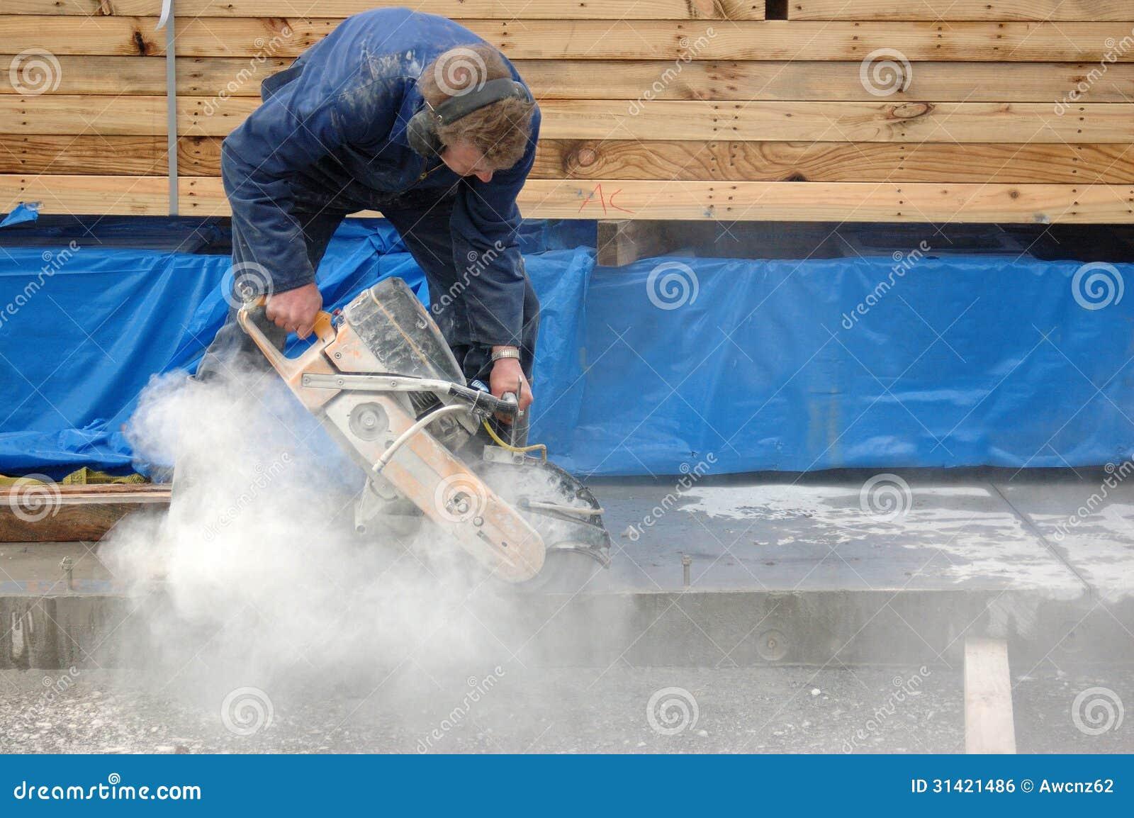 Concrete Cutting Royalty Free Stock Image Image 31421486