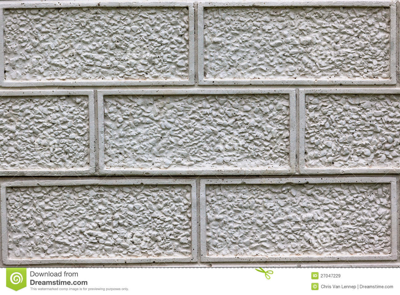 Concrete Design Slate Fence Royalty Free Stock Images