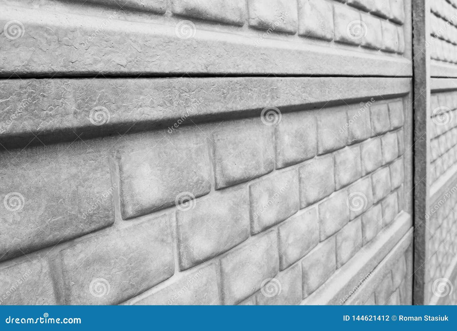 Concrete omheining Achtergrond Omheinings dichte omhooggaand