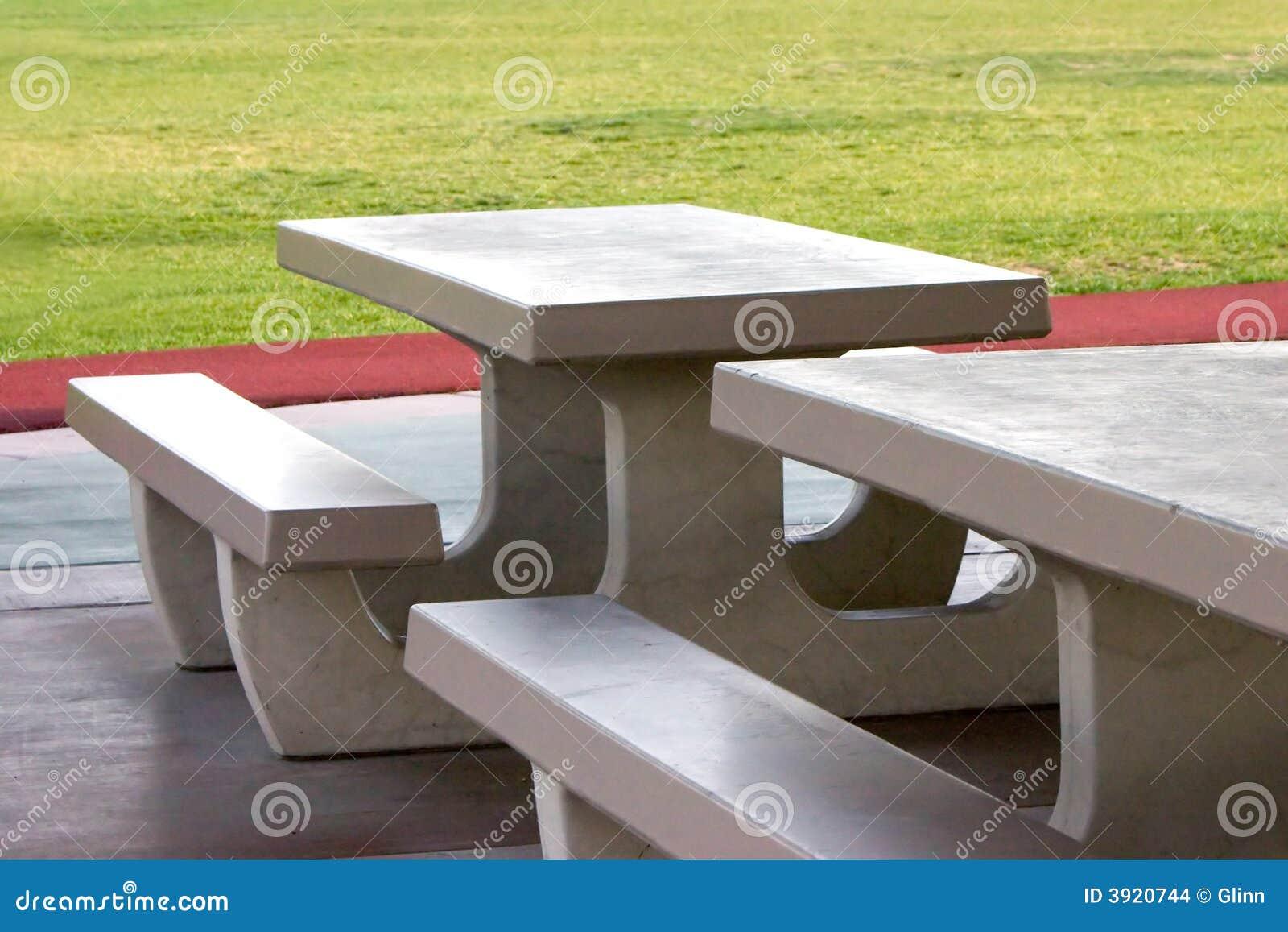 Concrete picknicklijsten