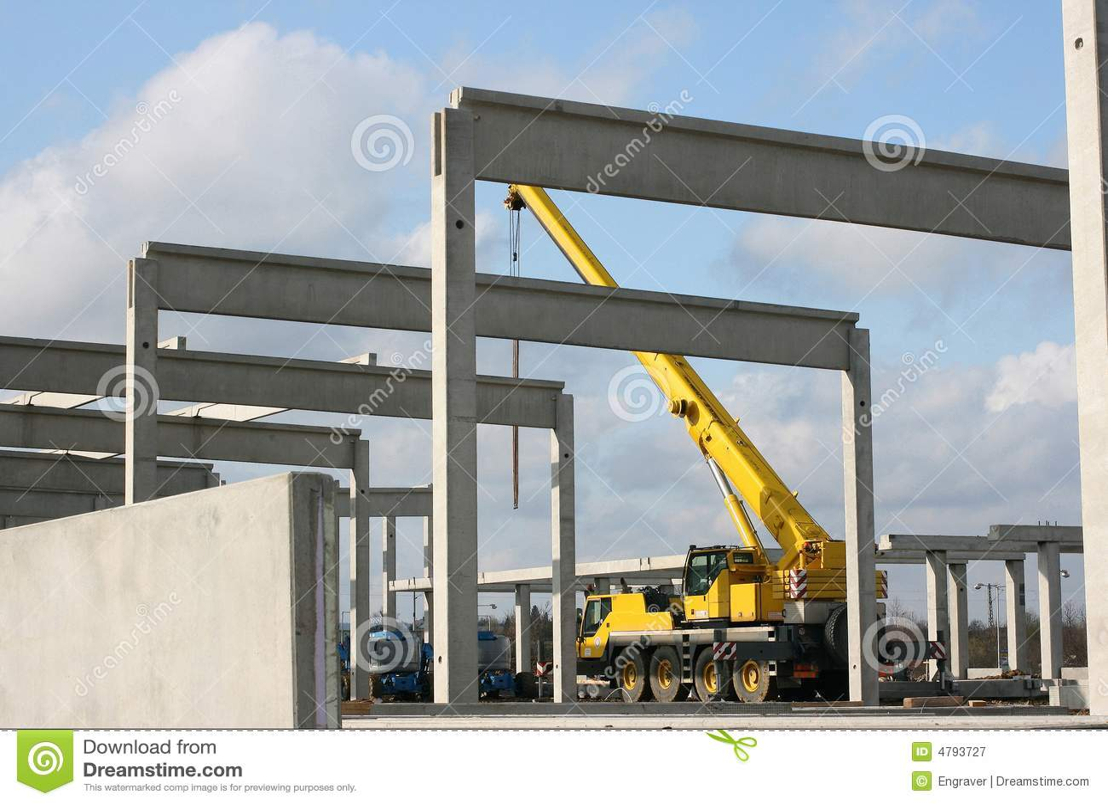 Pillar Concrete Buildings : Concrete pillar royalty free stock photography image