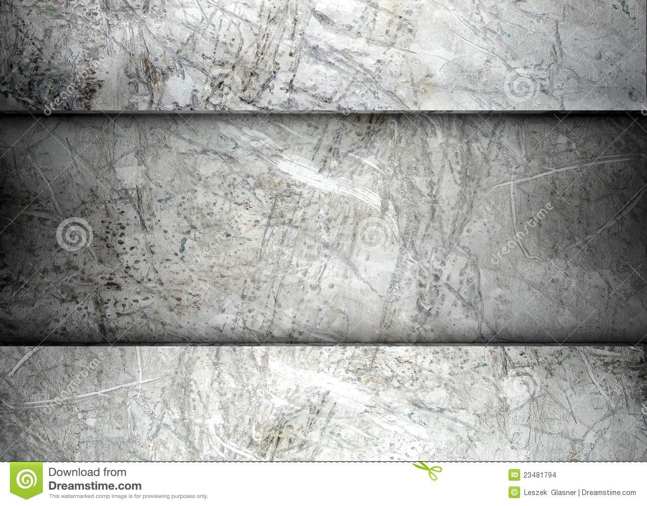 concrete and plaster template background stock illustration