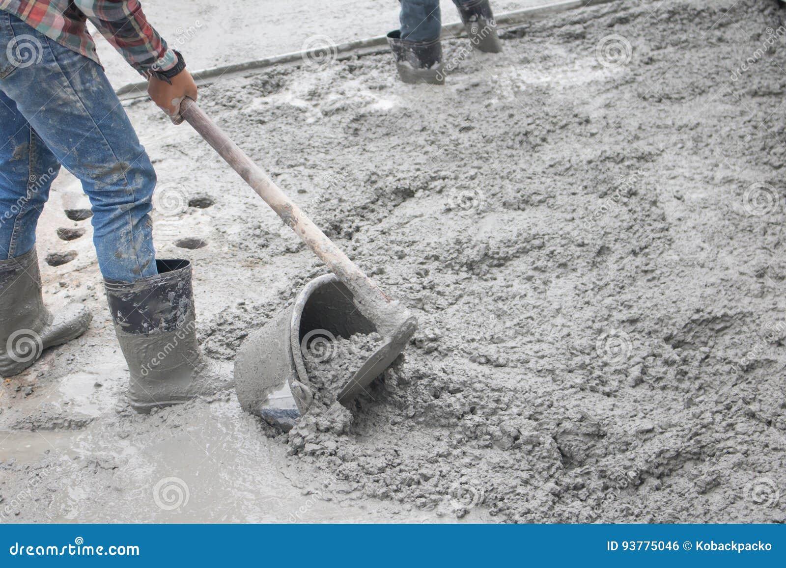 Concrete stock photo  Image of builder, bunker, cement