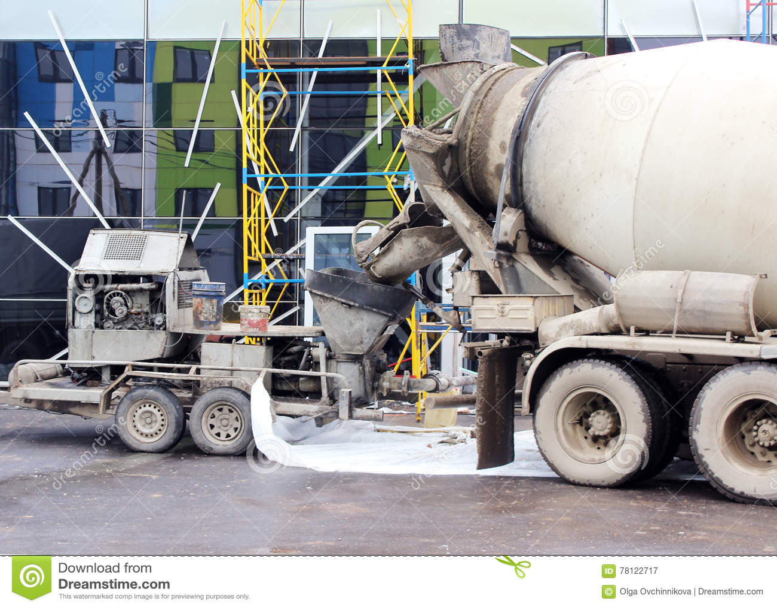 Cement Pump Stock Illustrations 120 Cement Pump Stock