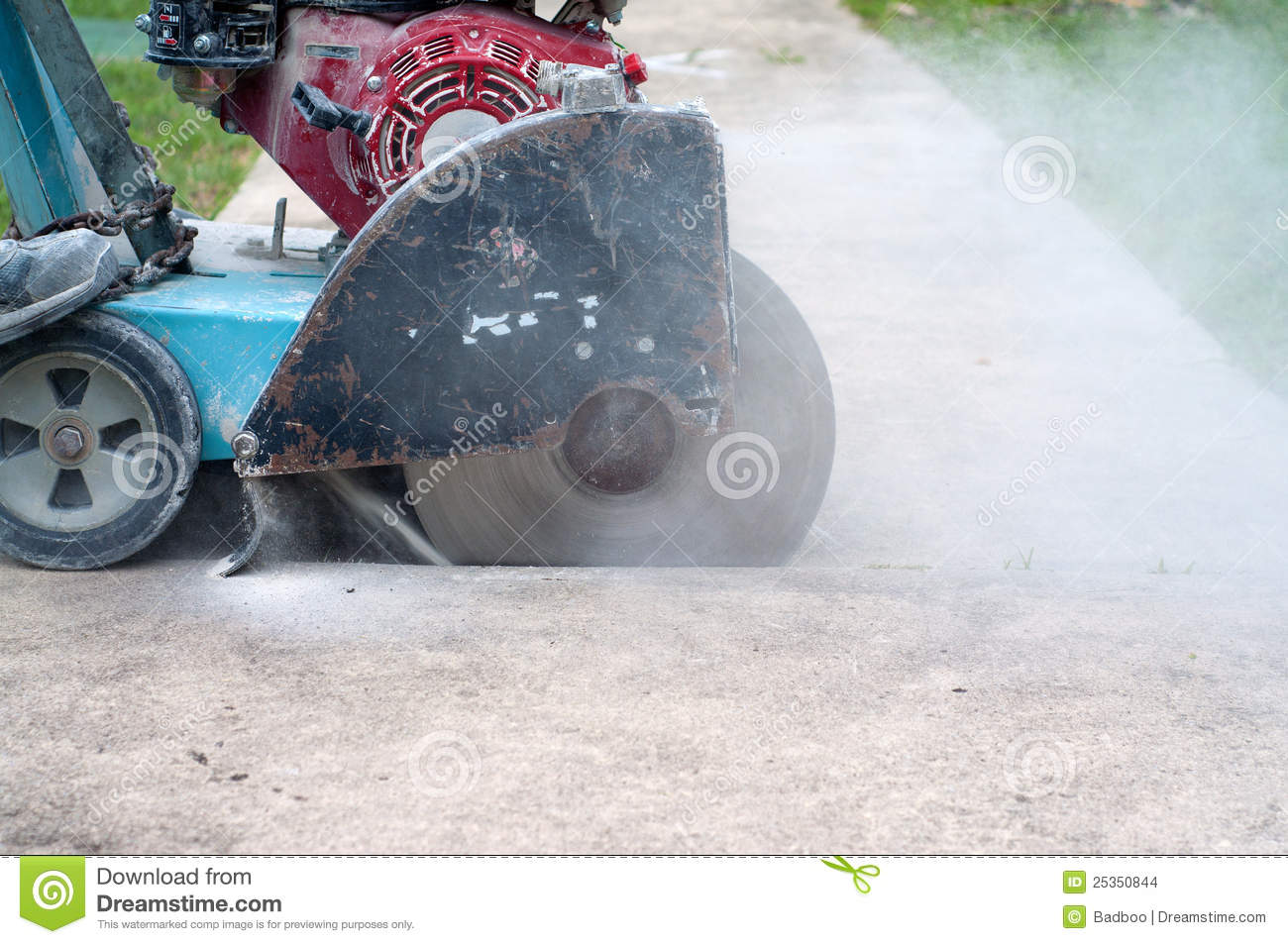 Concrete Saw Stock Images Image 25350844