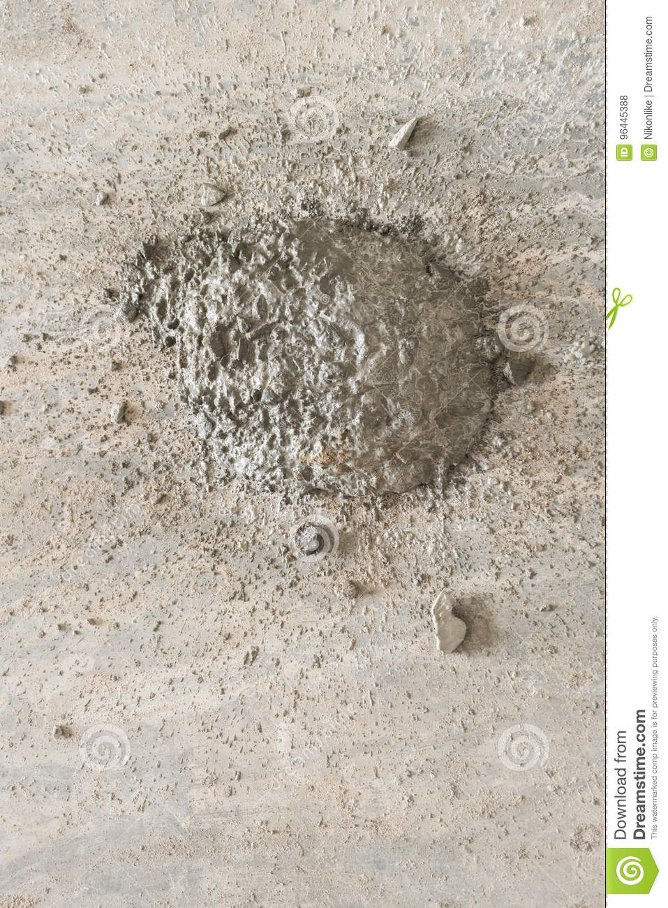 Concrete Screed On The Floor Stock Photo Image Of Polisher