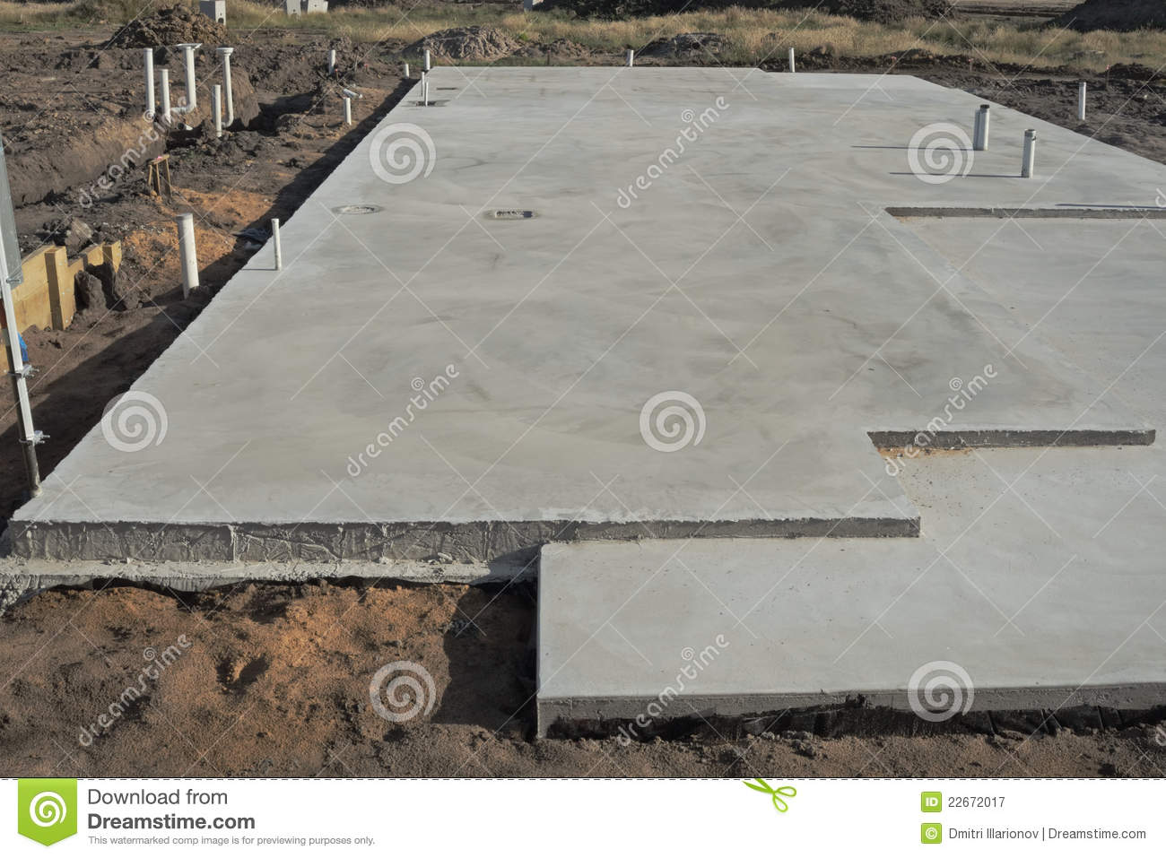 Concrete slab royalty free stock photography image 22672017 for Concrete diction