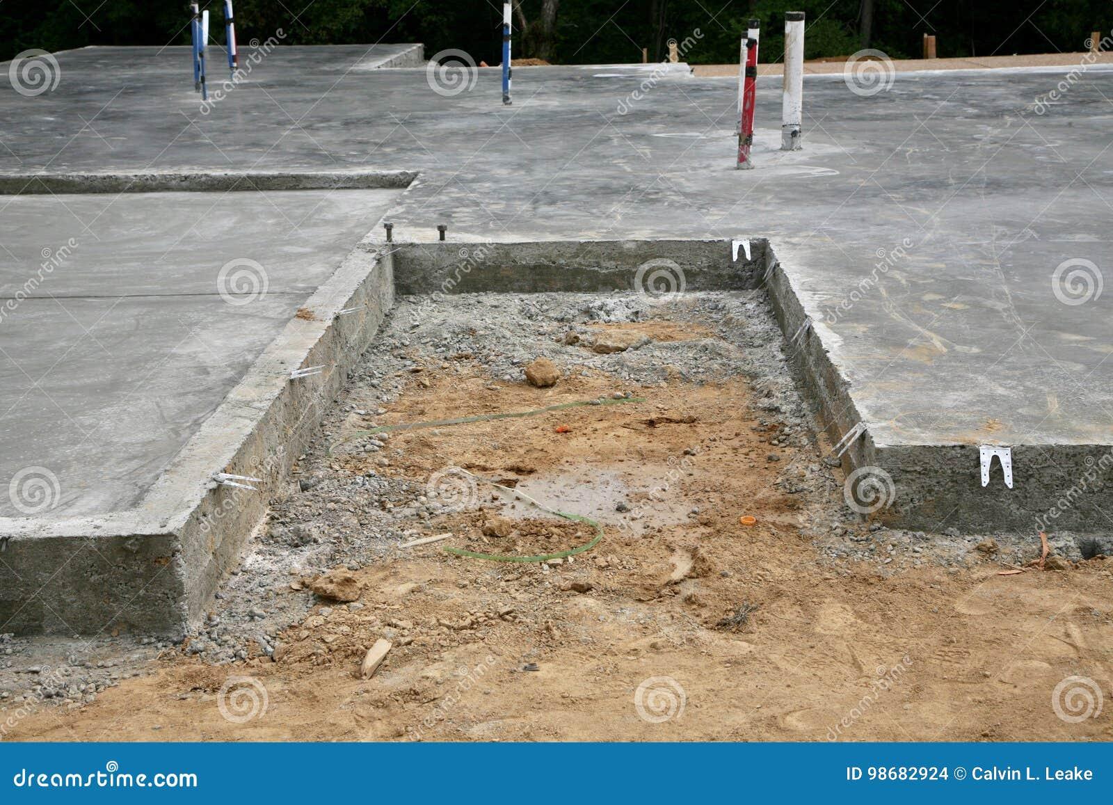 Concrete Slab New House