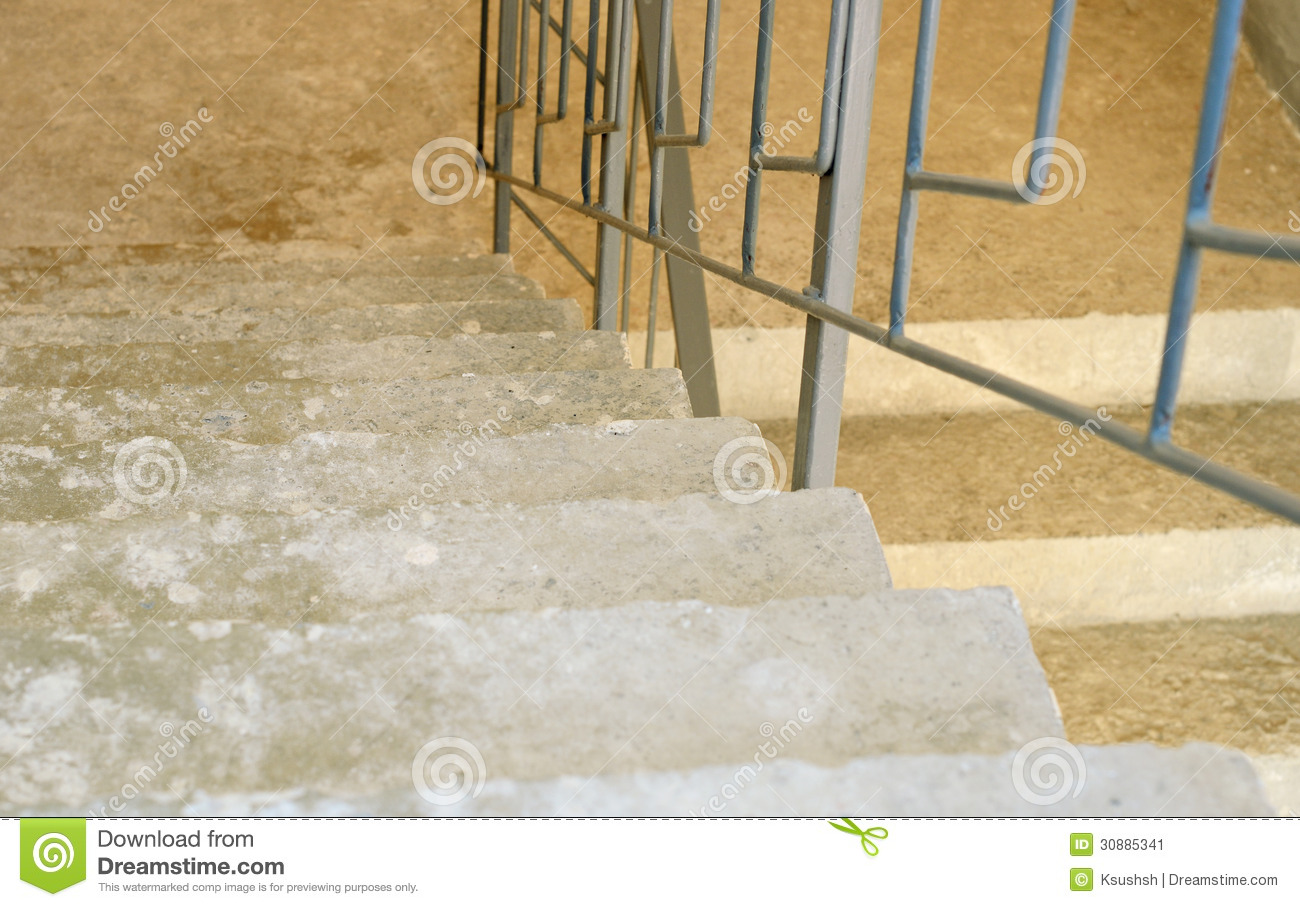 Concrete Stairs Stock Image Image 30885341