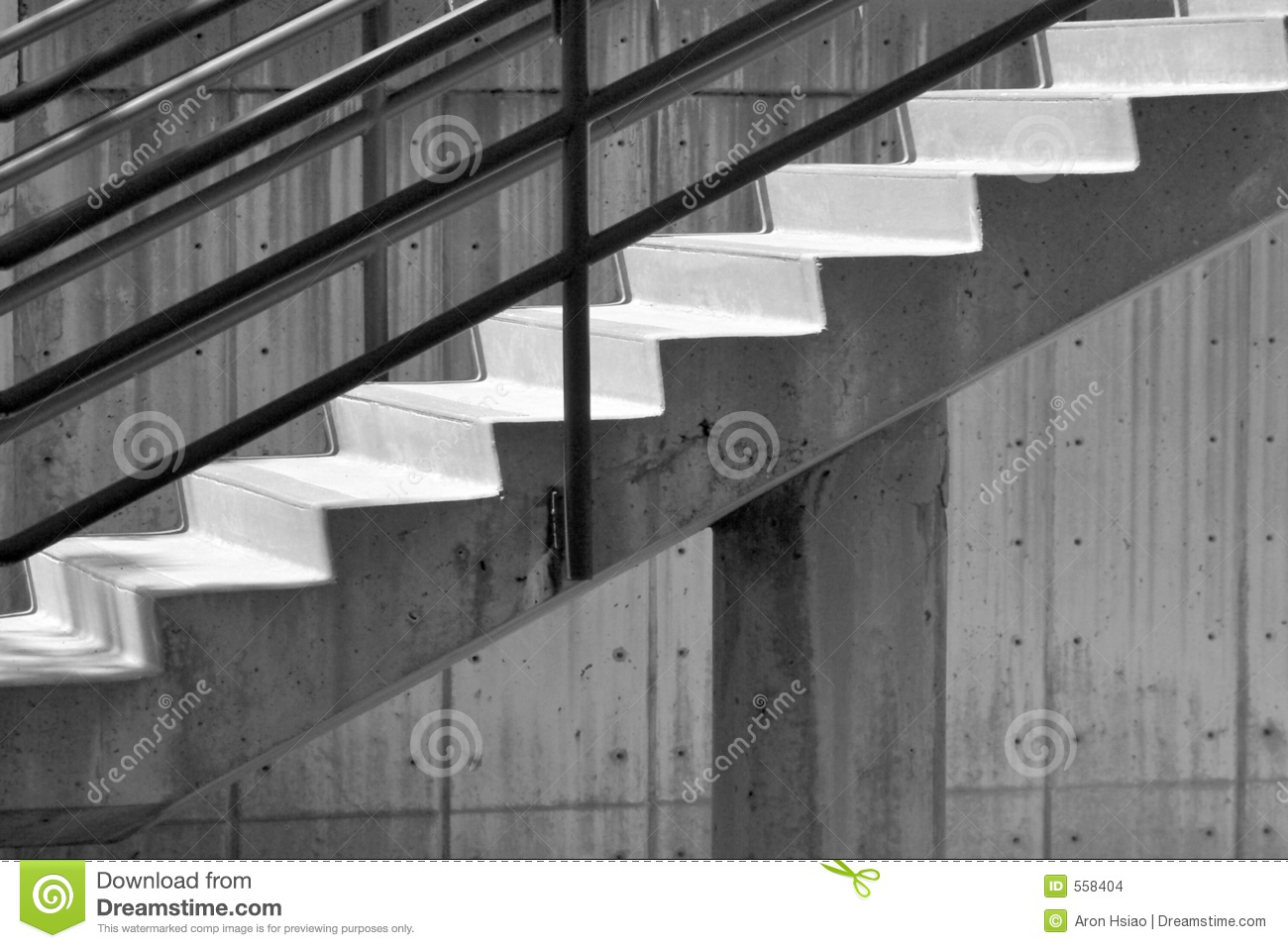Royalty Free Stock Photo. Download Concrete Stairs ...