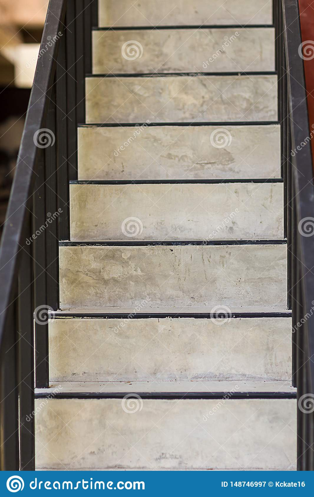 concrete steps.ladder texture.Cement concrete stair.Abstract modern concrete stairs to building. step of stairs for background.