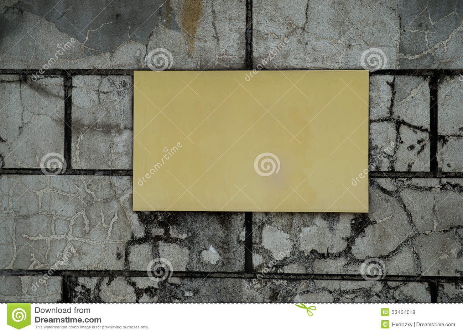 Plastic Cement Board : Concrete wall stock photo image of empty aged plastic