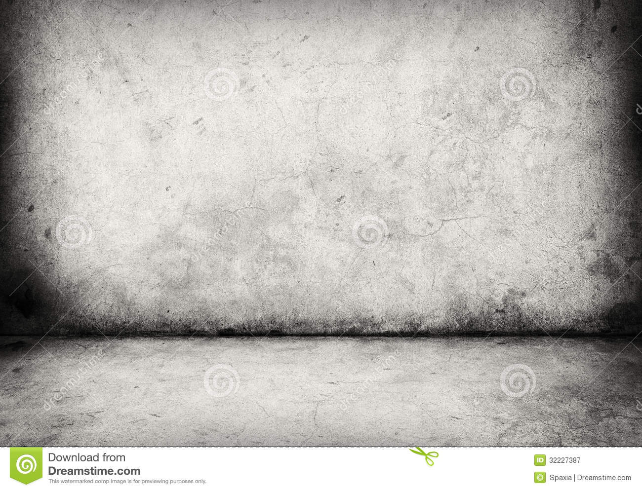 Concrete Wall And Floor Stock Image Image Of Abstracts