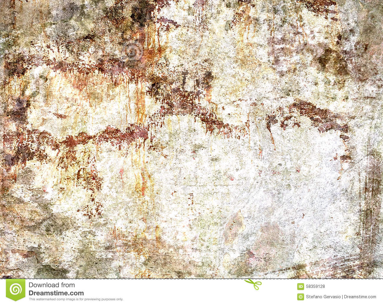 Concrete Wall Texture Ruined Stained Stock Photo - Image of