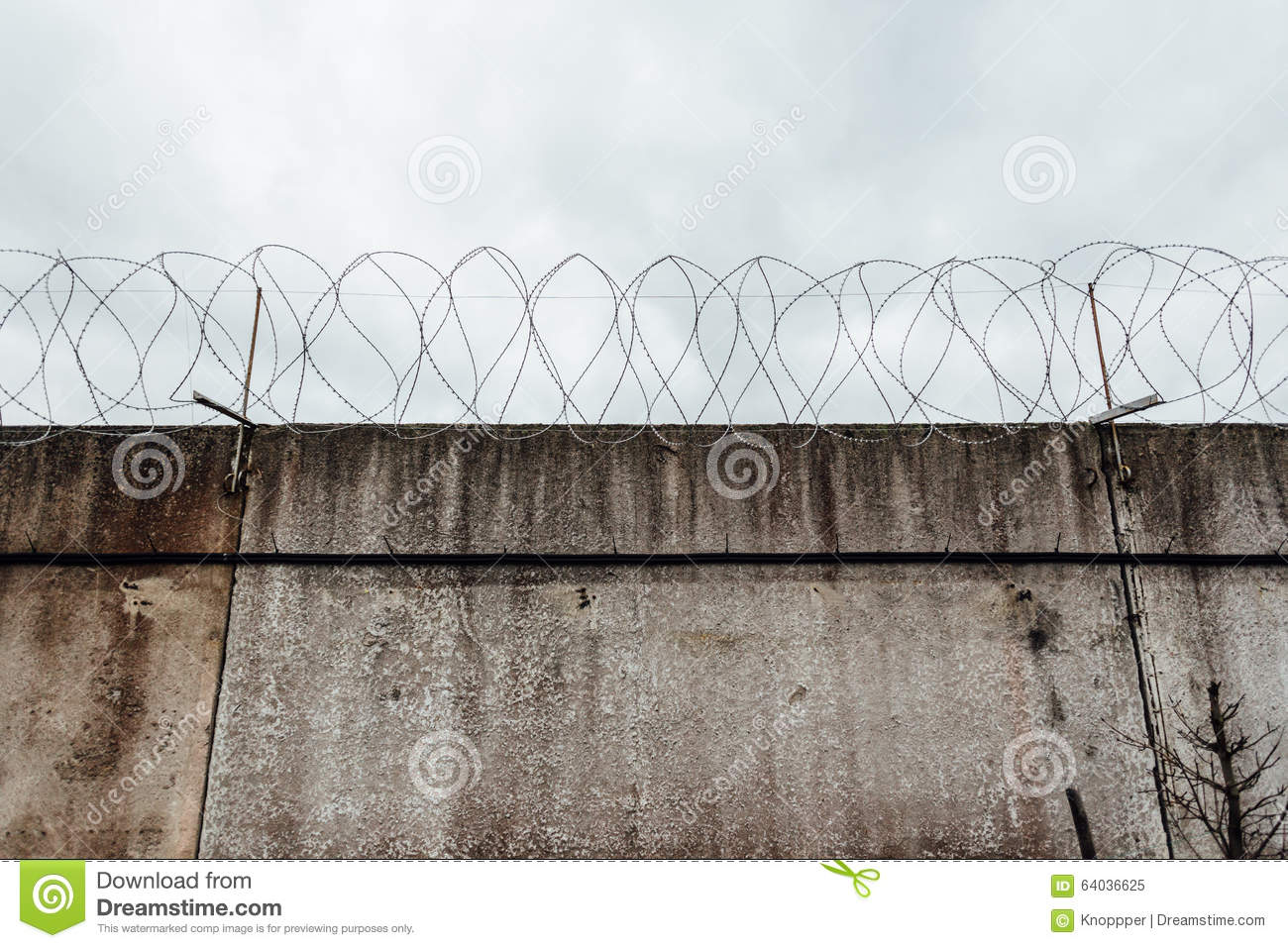Concrete wall w stock photo image