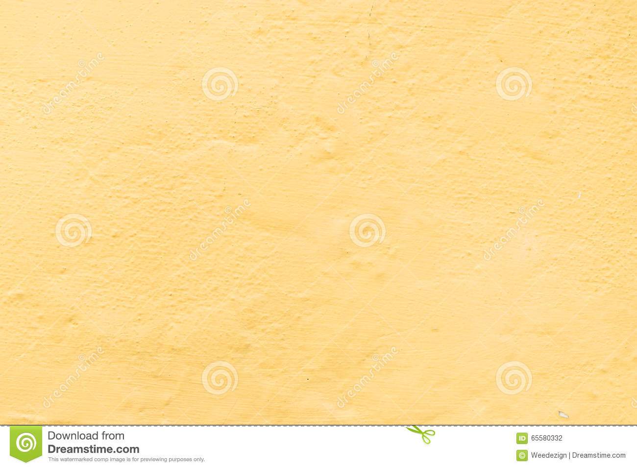 Concrete With Yellow Color Wall, Texture Background Stock Photo ...