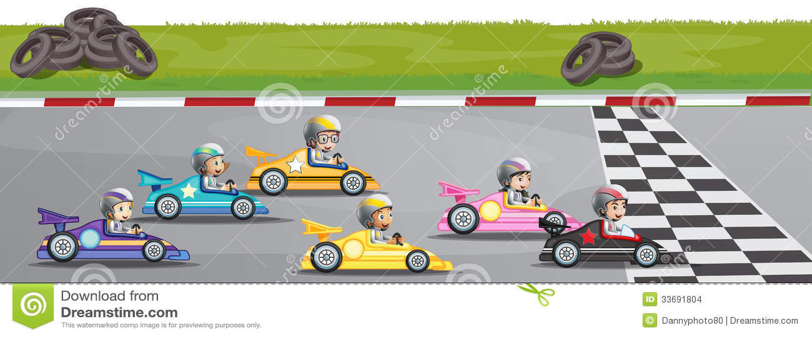 Concurrence de courses d automobiles