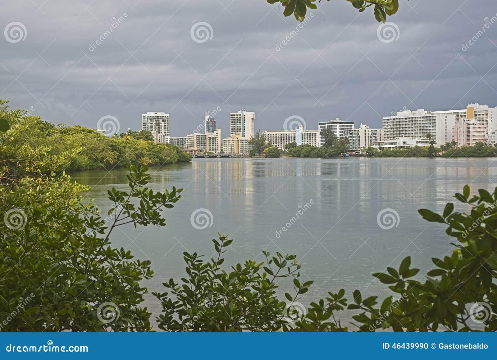 Condado lagoon, San Juan, Puerto Rico
