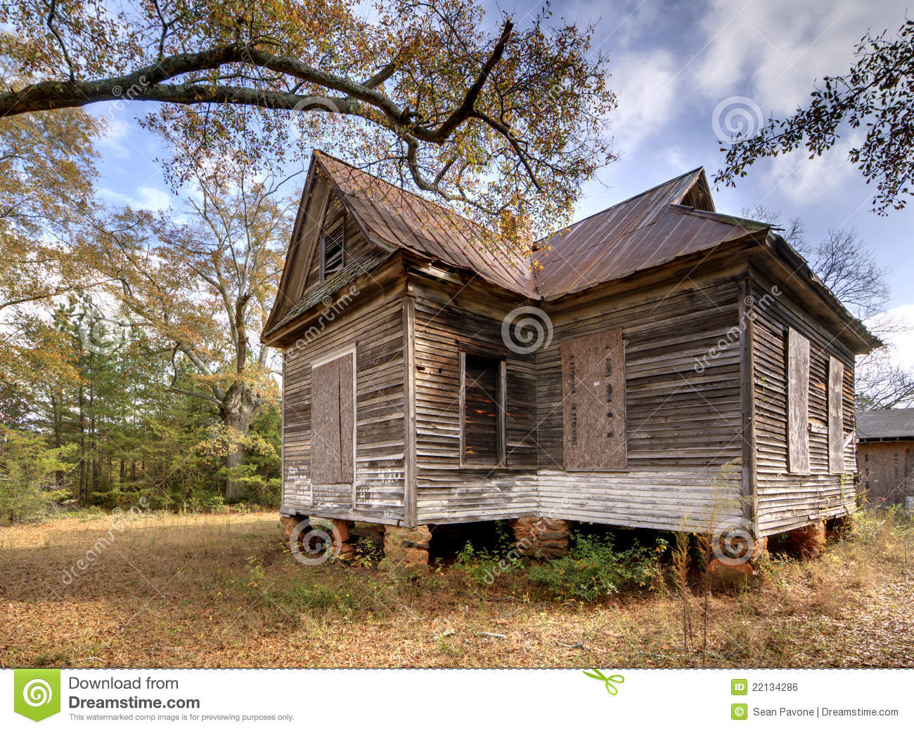 Condemned House Royalty Free Stock Image Image 22134286