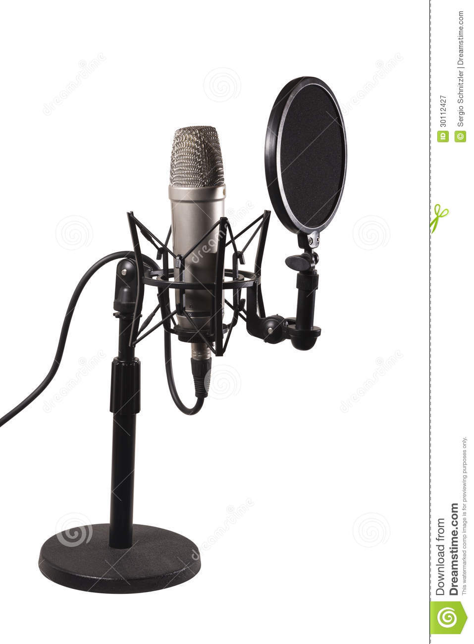 Radio Microphone Circuit Not Lossing Wiring Diagram Jack Shack Desk Condenser Royalty Free Stock Photography Electret